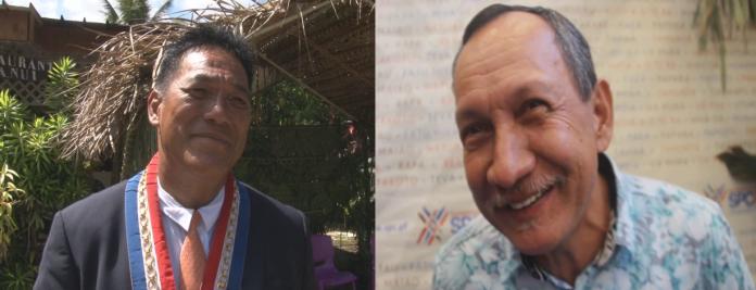 Les maire de Hiva Oa et Ua Huka
