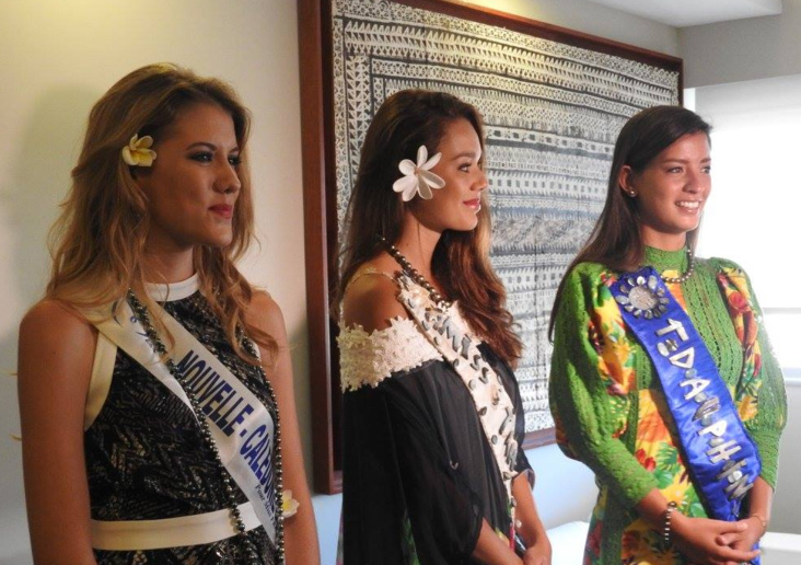 Source photo : Facebook Miss Tahiti 2016 en Nouvelle Calédonie