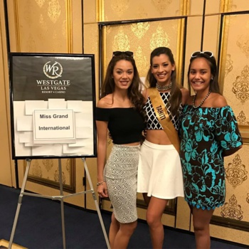 Miss Grand International : du soutien à Las Vegas pour Vaiata