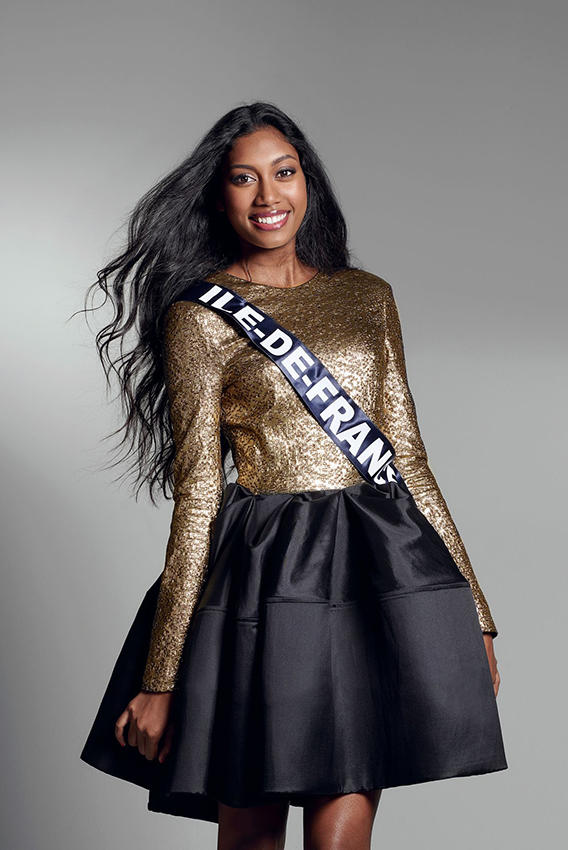 Meggy Pyaneeandee, Miss Ile-de-France. Crédit photo DR