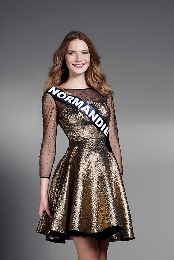 Esther Houdement, Miss Normandie.
