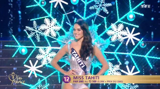 Miss France 2017 est Alicia Aylies, Miss Guyane