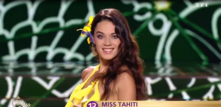 Miss France : Revivez les passages de miss Tahiti en images