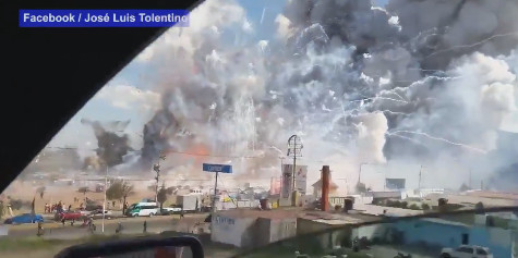 Drame au Mexique : explosion sur le plus grand marché de feux d'artifice