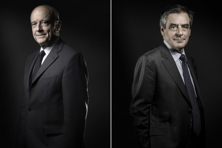 François Fillon et Alain Juppé - Photo Newseed