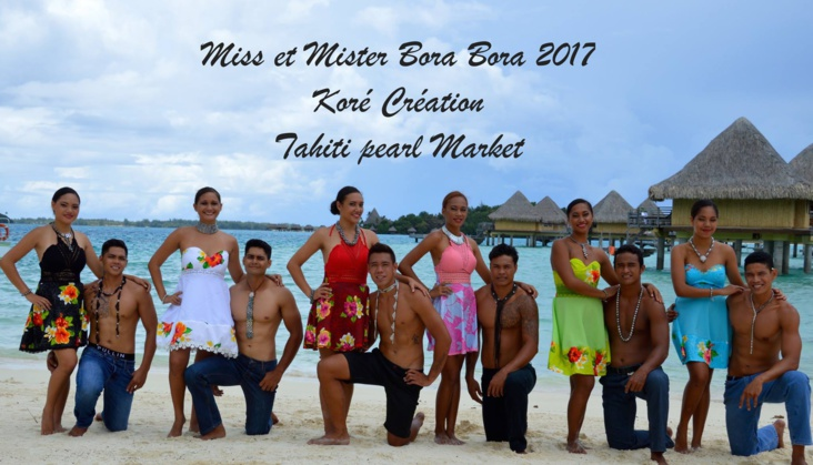 Source photo : Facebook Miss Et Mister Bora Bora 2017