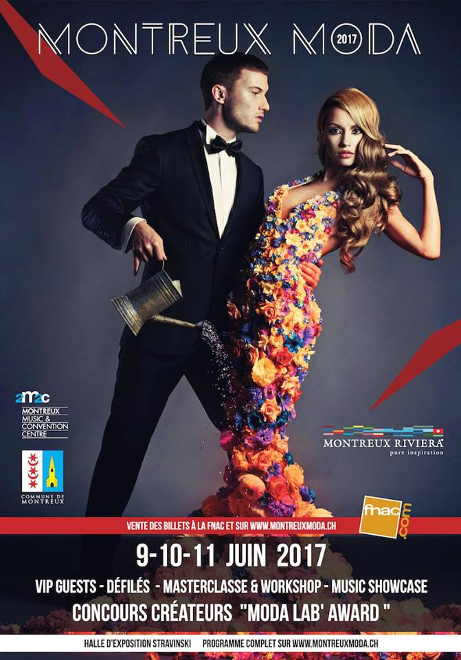 Estelle Anania, Ink girl France 2017, invitée du plus grand salon de mode Suisse