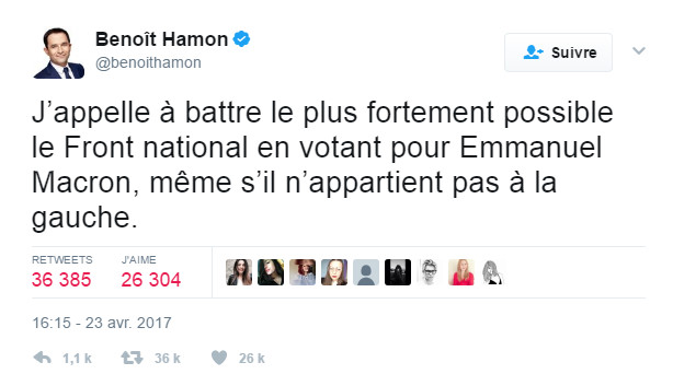 Union nationale autour d'Emmanuel Macron