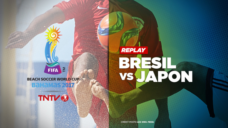 REPLAY : BEACH SOCCER WORLD CUP BAHAMAS 2017 - BRESIL vs JAPON