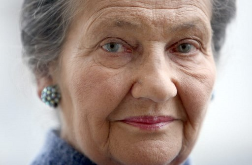 Simone Veil en 2007. (Photo AFP.)