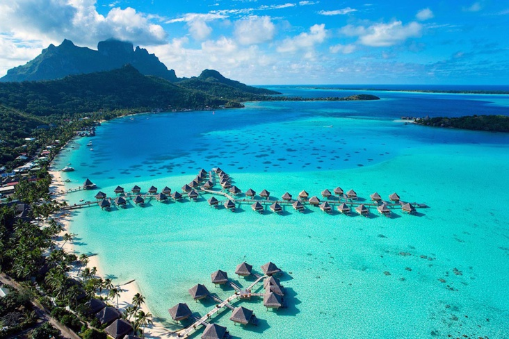 L'interContinental de Bora Bora - dr