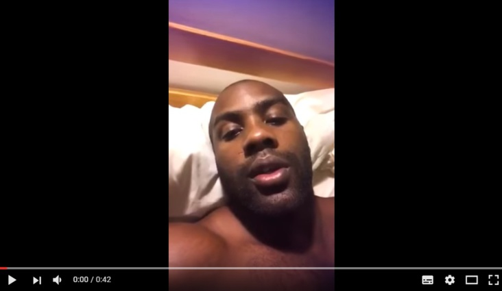 Teddy Riner plus fort que…son lit