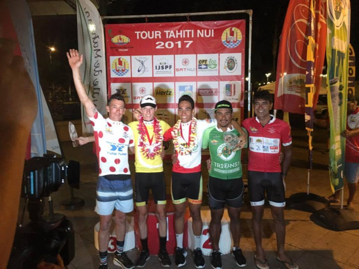 Julien Buisson remporte le Tour Tahiti Nui