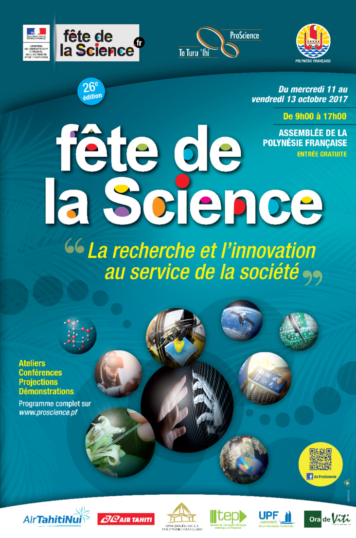 On fête la science du 11 au 13 octobre