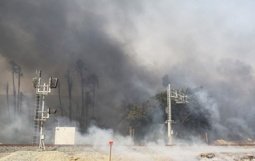 Incendies en Californie :​
