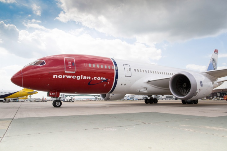 (Crédit photo : Norwegian Airlines)