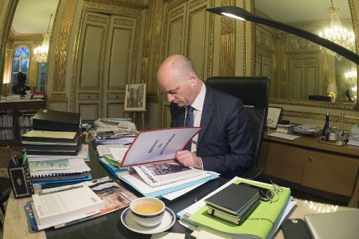 Le ministre de l'Education, Jean-Michel Blanquer. (Crédit photo : AFP)