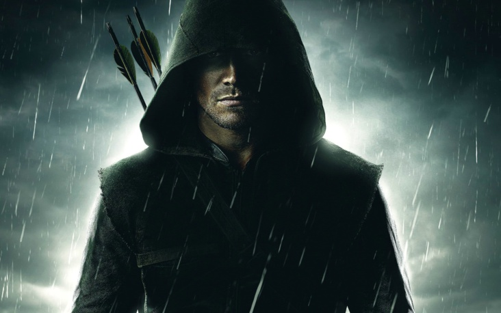 Arrow en lutte contre l'organisation Shadowspire