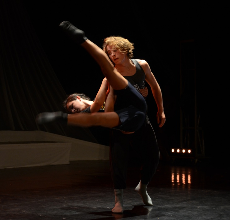 Duo kiwi/australien en danse contemporaine - Photo : Mike Leyral