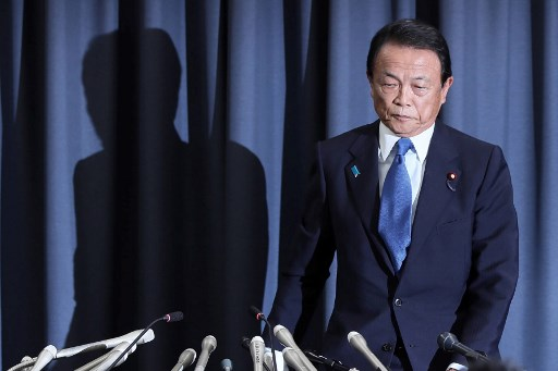 Le ministre Taro Aso. (Crédit photo : AFP)