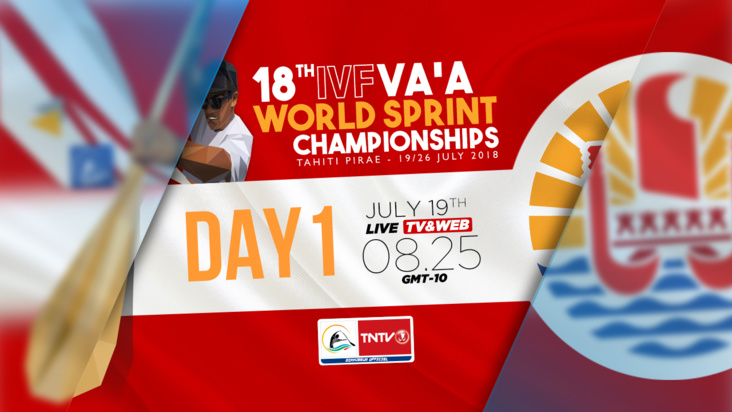 LIVE - 18TH IVF VAA WORLD SPRINT CHAMPIONSHIP 2018, DAY 1 (english version)