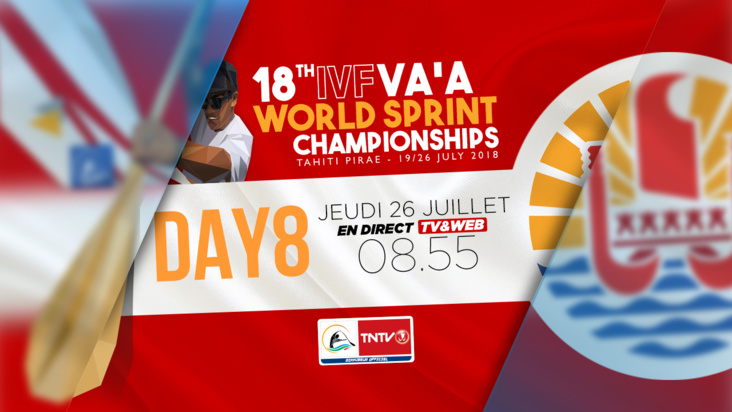 EN DIRECT - 18TH IVF VAA WORLD SPRINT CHAMPIONSHIP 2018, JOUR 8 (version française)
