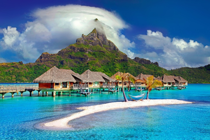 Bora Bora. Photo d'illustration source Pixabay