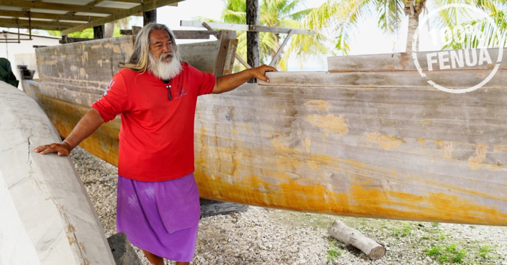 Moana : la fabrication d'une pirogue traditionnelle avec Punua