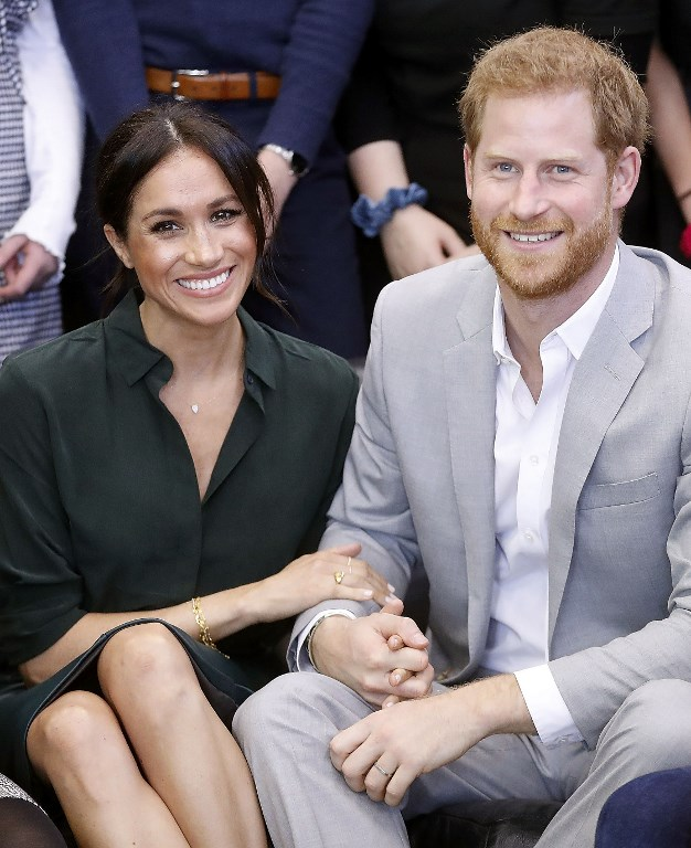 Le prince Harry et Meghan Markle le 3 octobre 2018. (Crédit photo : Chris Jackson / POOL / AFP)