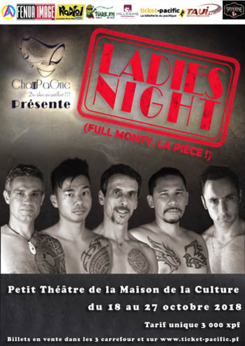 Ladies Night : The Full Monty par la Compagnie Chanpagne