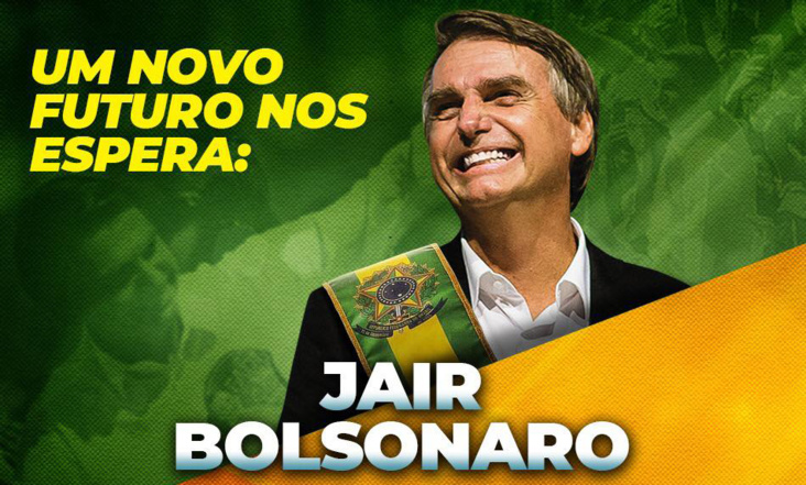 Crédit photo: FaceBook Bolsonaro