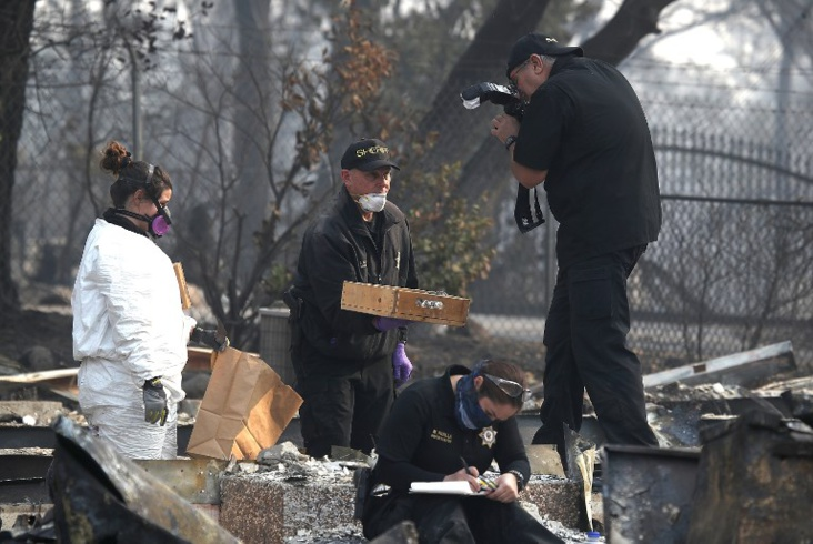 Incendies : les recherches continuent, San Francisco suffoque