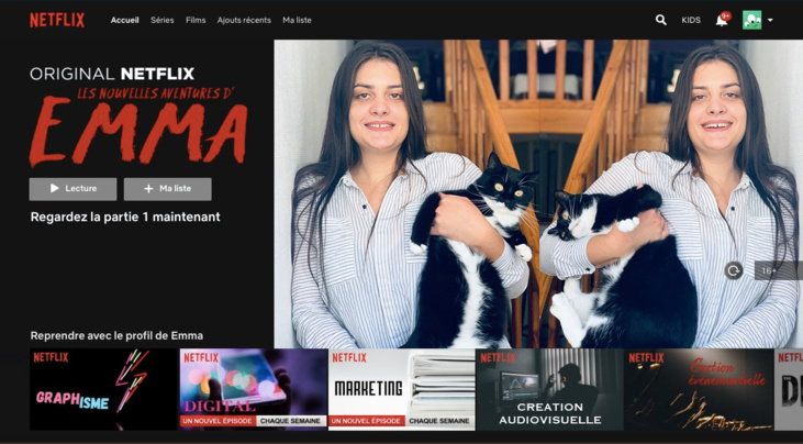 elle attire l u0026 39 attention de netflix france avec un cv insolite