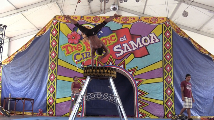 Dans les coulisses du Magic Circus of Samoa