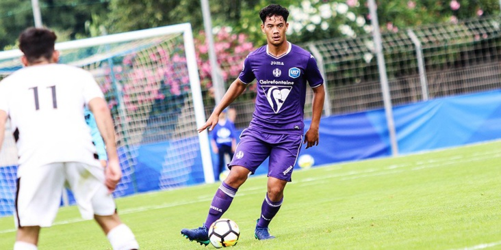 Terai Bremond stagiaire professionnel au Toulouse football club :