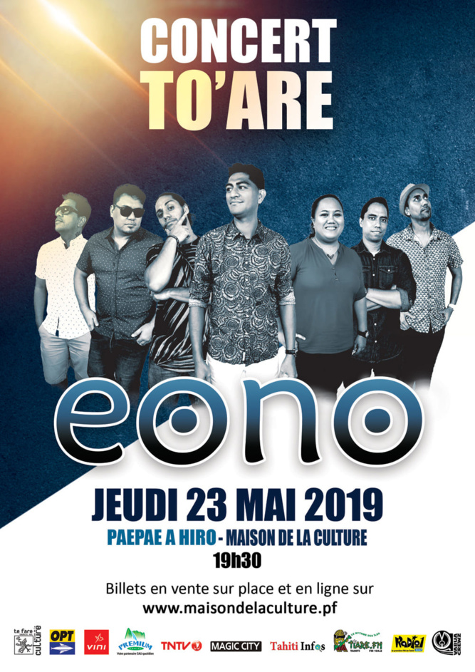 Le Concert To'are Eono est annulé