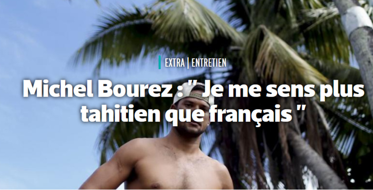 La grande interview de Michel Bourez