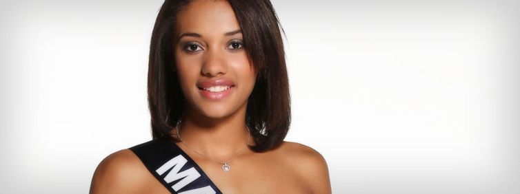 Miss Mayotte : Ludy Langlade. Source : Miss France