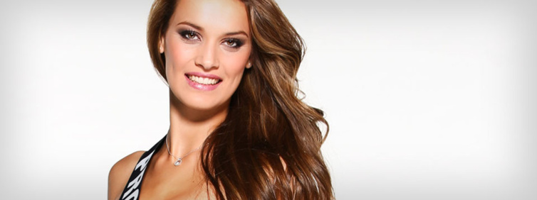 Miss Provence : Anne Laure Fourmont. Source : Miss France