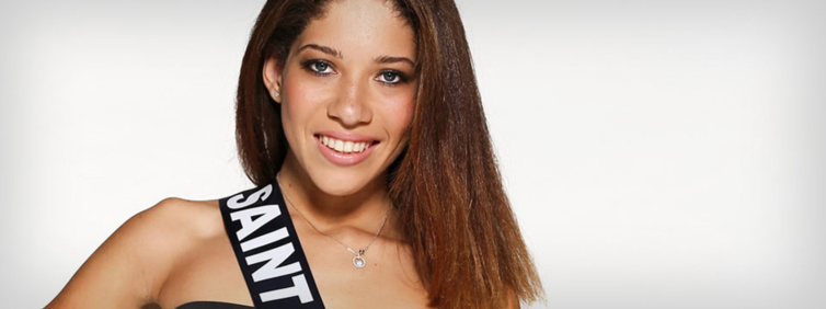 Miss Saint Martin : Nadika Matthew-Gauthier. Source : Miss France