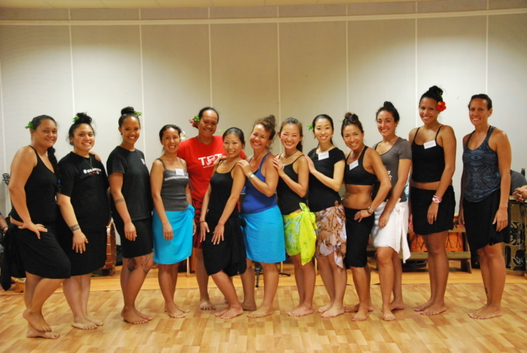 11e stage international de Ori Tahiti au conservatoire