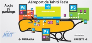 Aéroport de Faa'a : un parking