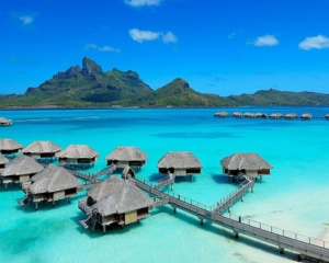 Le Four Seasons Bora Bora. Photo DR