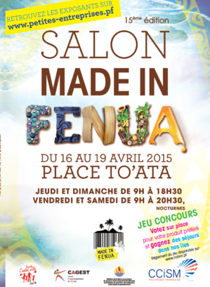 Le 5e salon Made in fenua débute jeudi