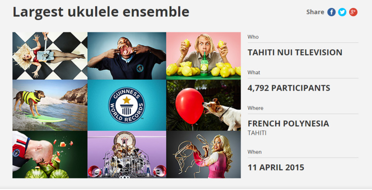 Capture d'écran du site : http://www.guinnessworldrecords.com/world-records/largest-ukulele-ensemble