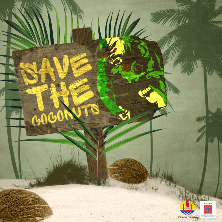 Save the coconuts, 3e édition !