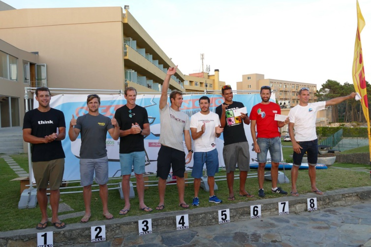 Le podium. Source photo : NELO Summer Challenge