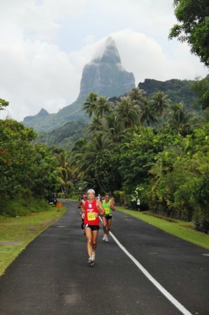 Photo d'archives Marathon de Moorea