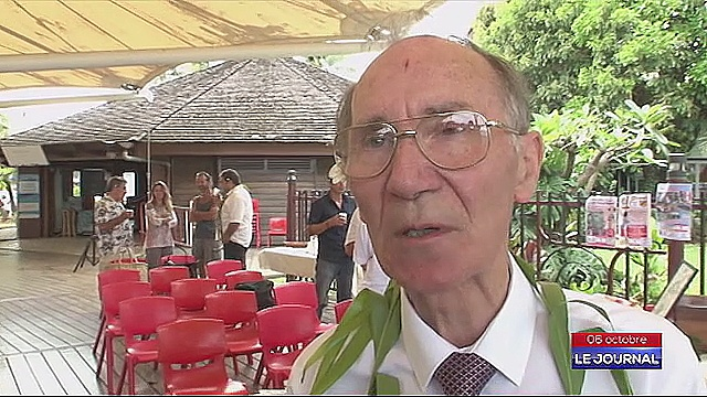 William Blight, descendant du Capitaine Blight (Crédit : Tahiti Nui Télévision)