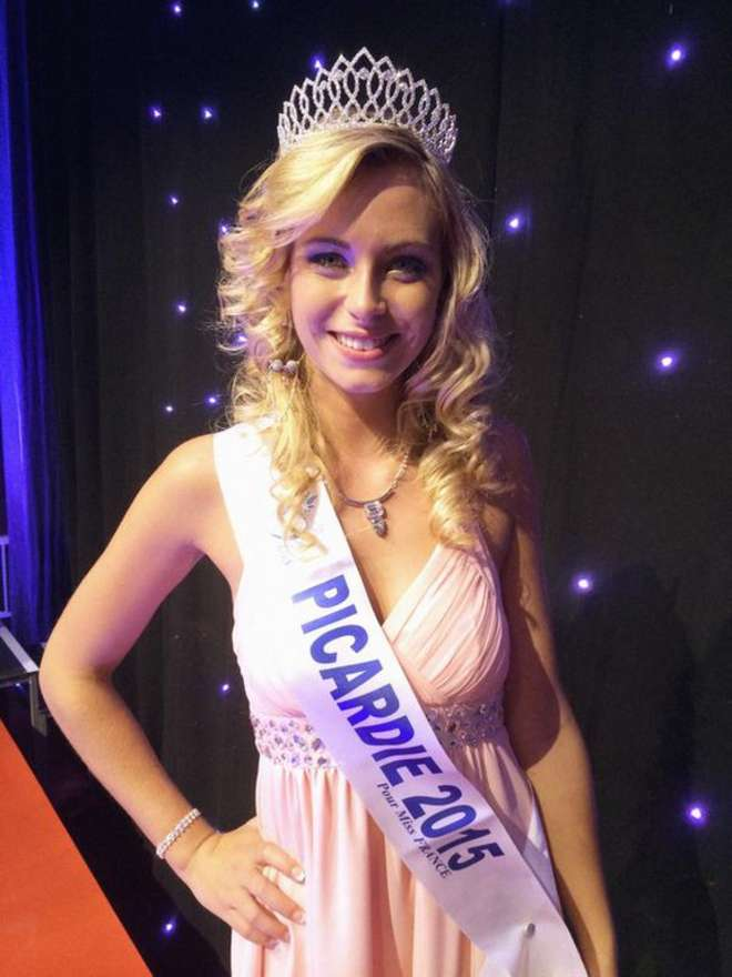 Emilie Delaplace, Miss Picardie Source photo : Twitter